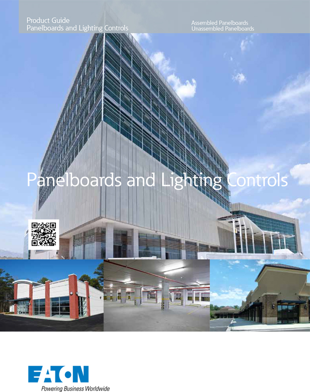 eaton panel boards and lighting controls