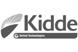 Kidde technology logo greyscale