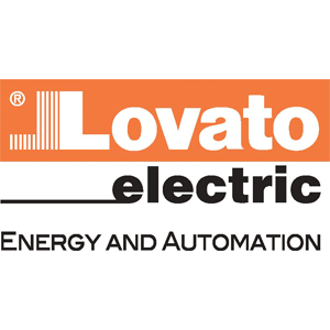 Lovato electric automation colour logo