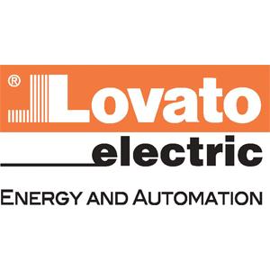 Lovato electric automation colour logo