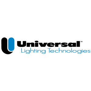 universal lighting technologies colour logo