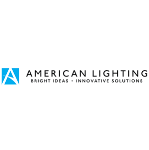 American lighting colour logo