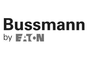 Bussman greyscale logo