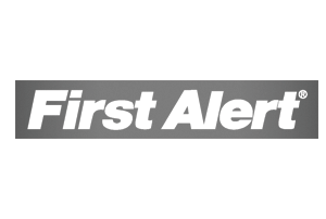 first alert logo grey