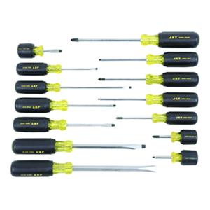 Cushion grip 14pc screwdriver