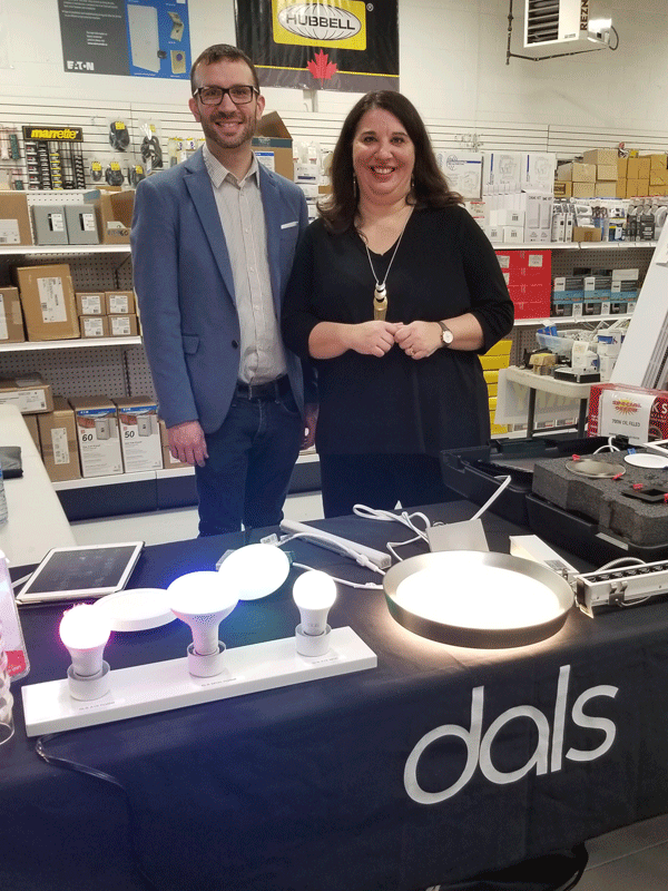 Dals lighting at NALP