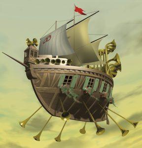 Le bateau musical de M. Kupfermann