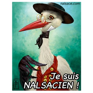 Cigogne sticker