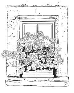 Colorier et partager les Fleurs et Jardins d'Alsace coloriage jordane desjardins