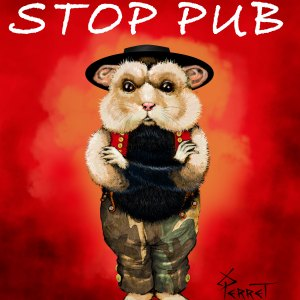Stop-pub-sticker