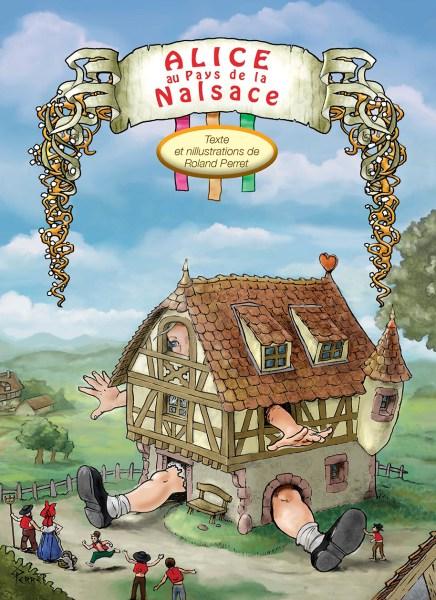 couverture Alice au pays de la Nalsace