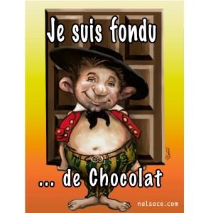 fondu de chocolat-sticker