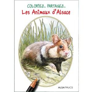 pochette - coloriage - animaux - Alsace - Roland Perret