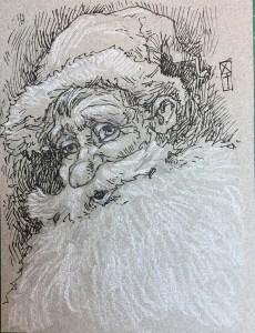 Père Noël jovial