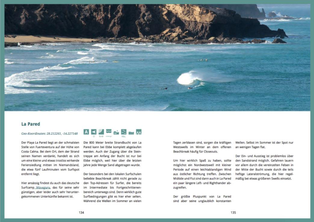 Surfguide Fuerteventura - La Pared
