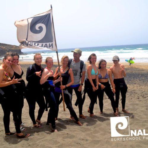 Nalusurf Surfschule Fuerteventura - Surfkurs Juli 2018
