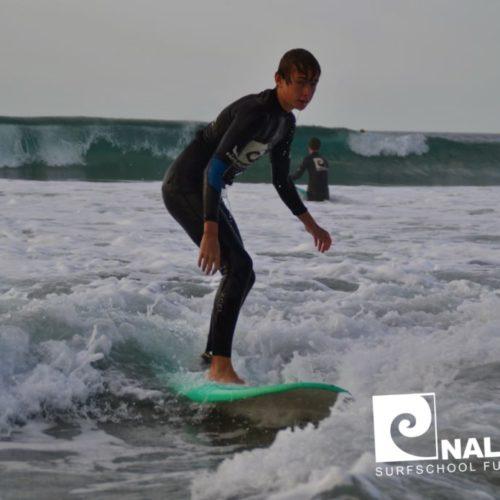 Nalusurf Surfschule und Surfcamp Fuerteventura - Surfkurs in La Pared - Oktober 2018