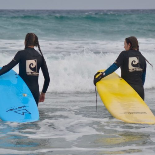 Surfkurs Fuerteventura - Nalusurf Surfschule / Surfcamp August 2019