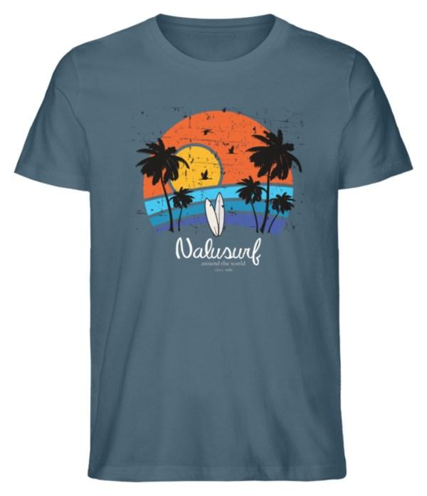 Herren Summer Sunset - Herren Premium Organic Shirt-6895