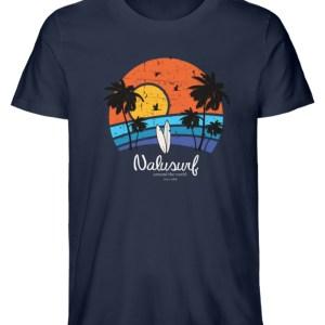 Herren Summer Sunset - Herren Premium Organic Shirt-6887