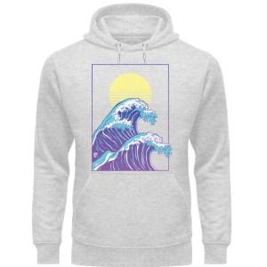 Wave of Life - Unisex Organic Hoodie-6892