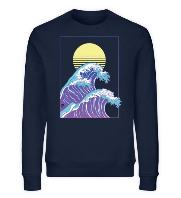 Wave of Life - Unisex Organic Sweatshirt-6887