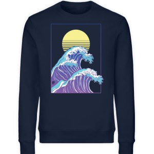 Wave of Life - Unisex Organic Sweatshirt-6887