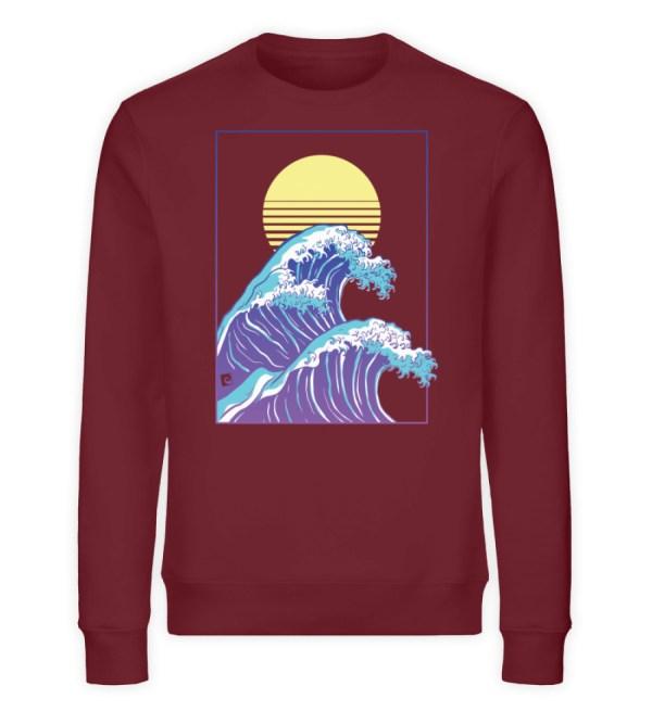 Wave of Life - Unisex Organic Sweatshirt-6883