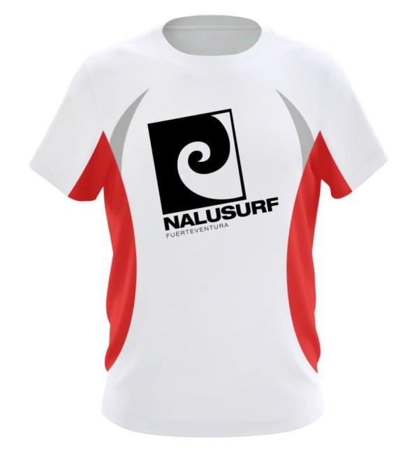 Nalusurf Fuerteventura Sport - Herren Laufshirt tailliert geschnitten-6756