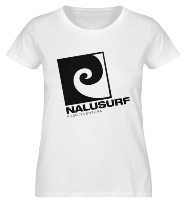 Nalusurf Fuerteventura - Damen Premium Organic Shirt-3