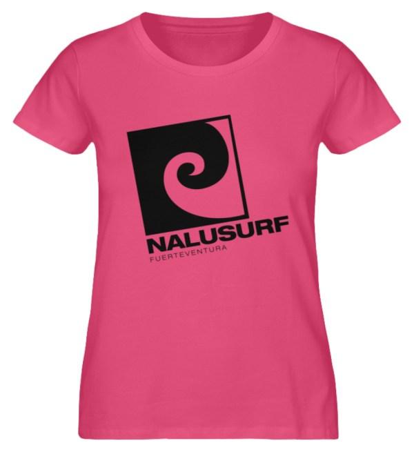 Nalusurf Fuerteventura - Damen Premium Organic Shirt-6930