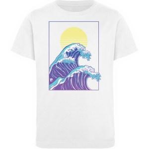 Wave of Life - Kinder Organic T-Shirt-3