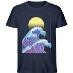 Wave of Life - Herren Premium Organic Shirt-6887