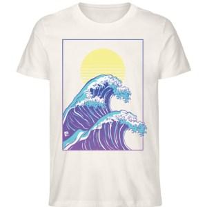 Wave of Life - Herren Premium Organic Shirt-6881