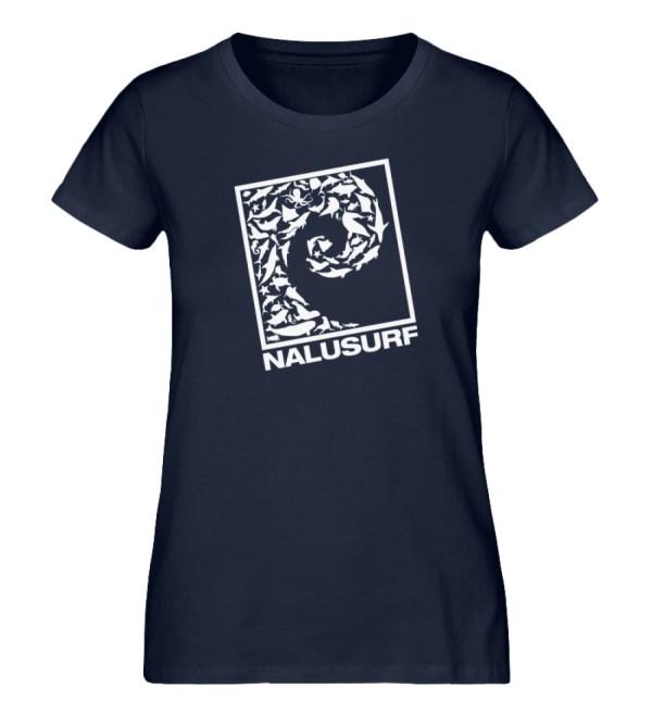 Nalusurf Ocean Life II - Damen Premium Organic Shirt-6887