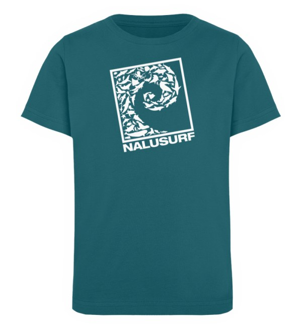 Nalusurf Ocean Life II - Kinder Organic T-Shirt-6889