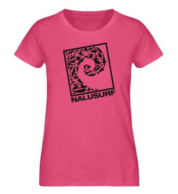 Nalusurf Ocean Life - Damen Premium Organic Shirt-6930