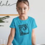 Kinder Shirt Mädchen Nalusurf Ocean Life Welle