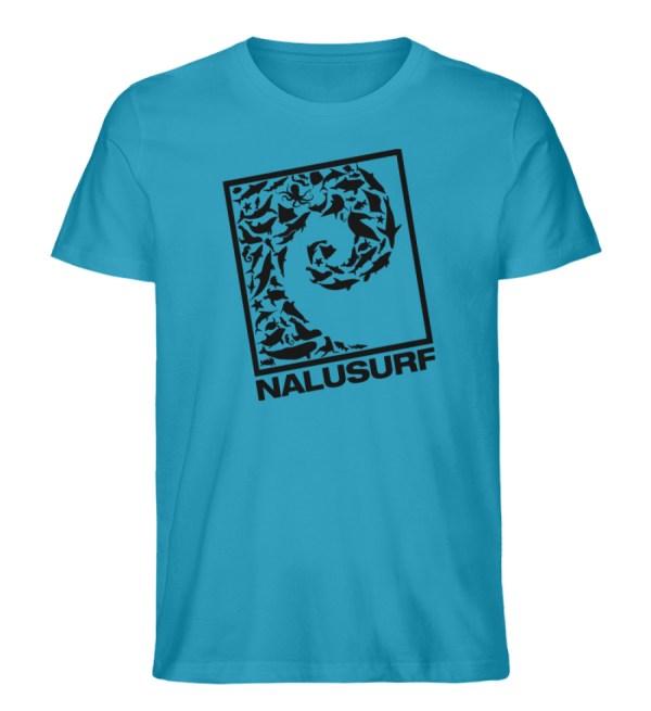 Nalusurf Ocean Life - Herren Premium Organic Shirt-6885