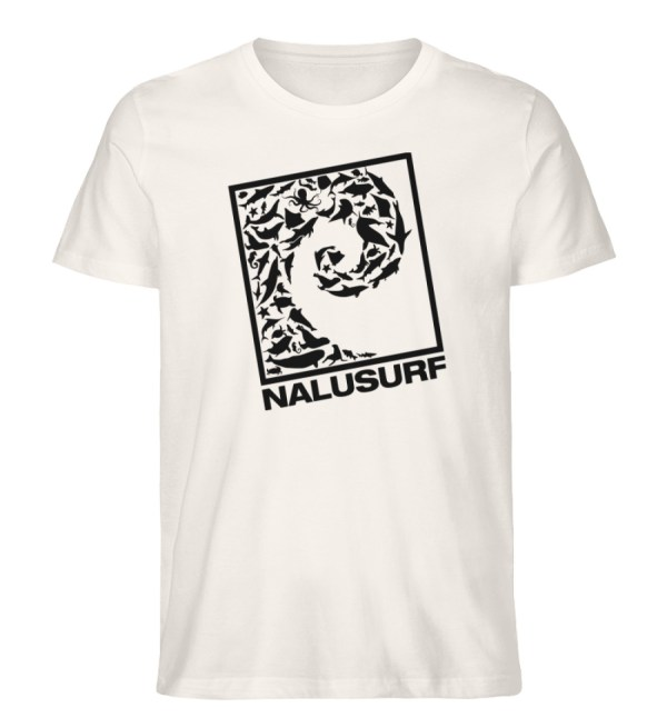 Nalusurf Ocean Life - Herren Premium Organic Shirt-6881