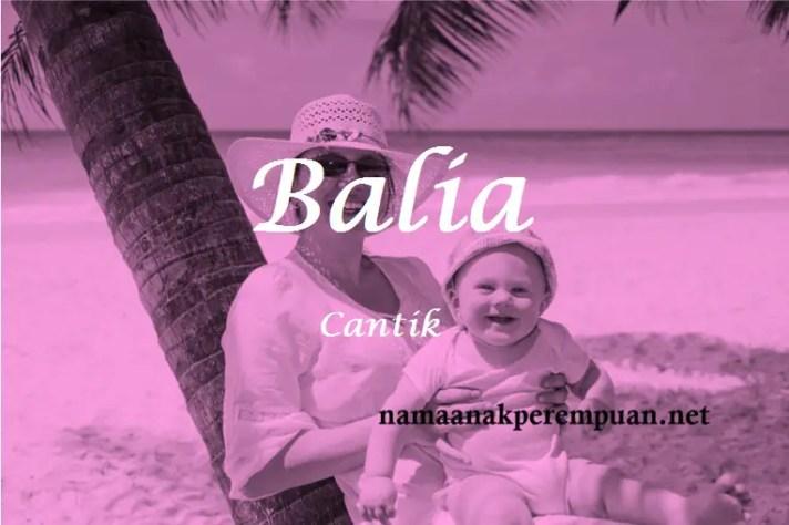 arti nama balia