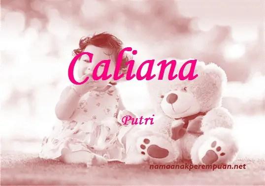 arti nama caliana