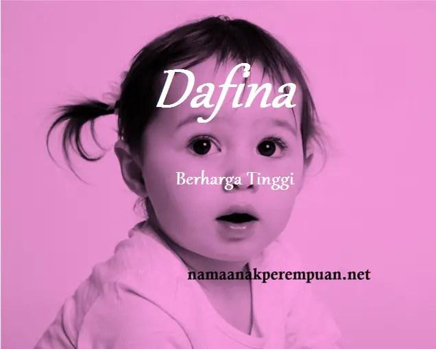 arti nama dafina