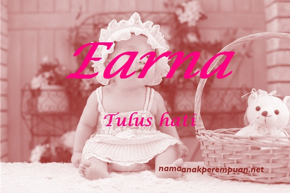 arti nama earna