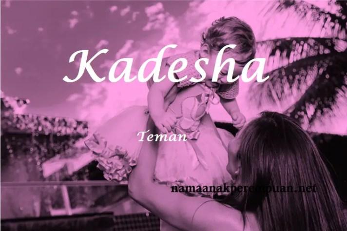 arti nama kadesha