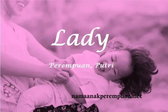 arti nama lady