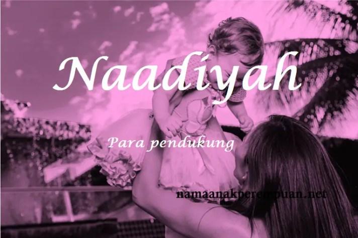arti nama naadiyah