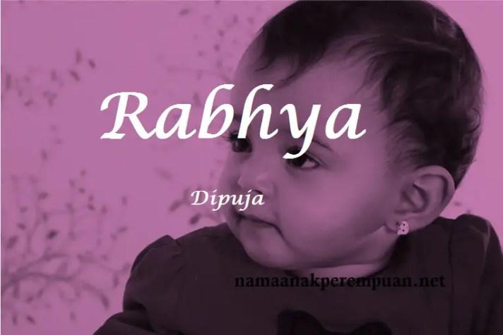 arti nama rabhya