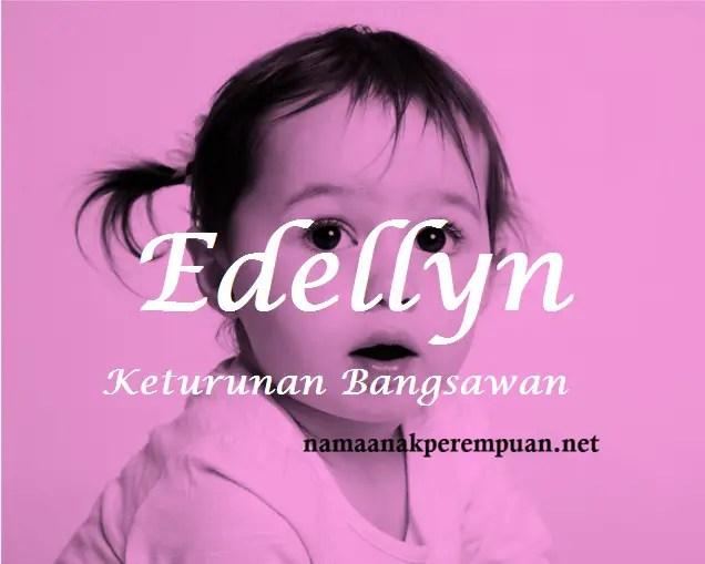 arti nama Edellyn