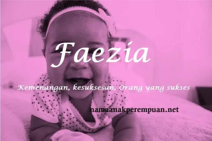 arti nama Faezia